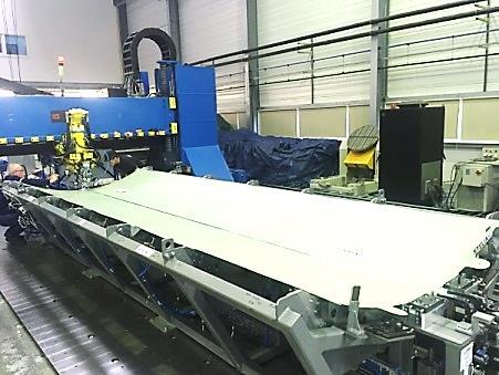5-Soudage FSW de panneaux de pavillon STELIA AEROSPACE à l'Institut de Soudure